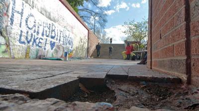 Hole in Bricks