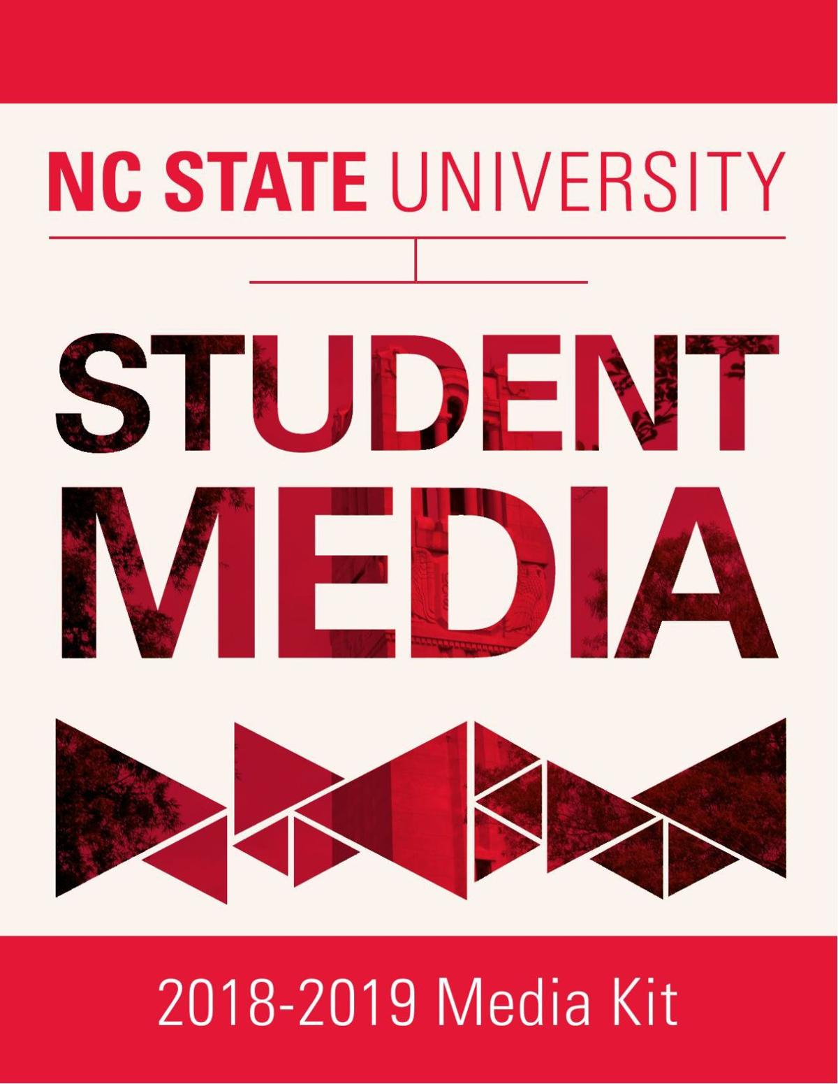 NC State Student Media Rate Card 2018-2019