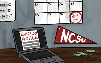 Evictions graphic