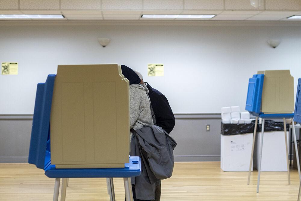 Inside Voting Room
