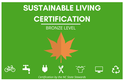 sustainable living certification