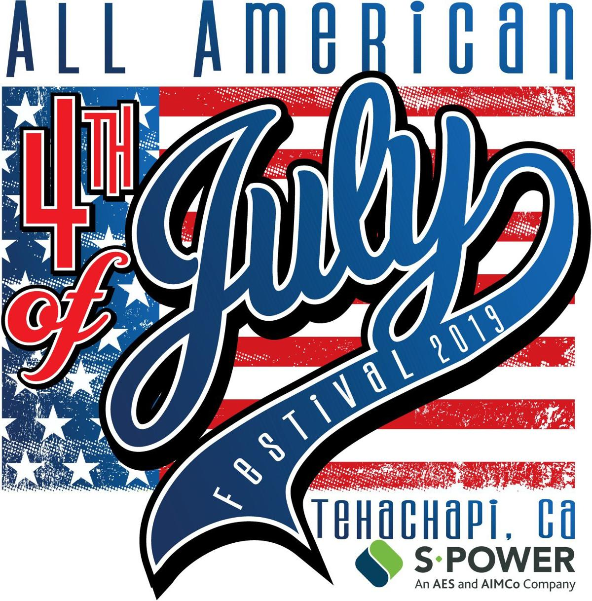 All American 4th of July logo