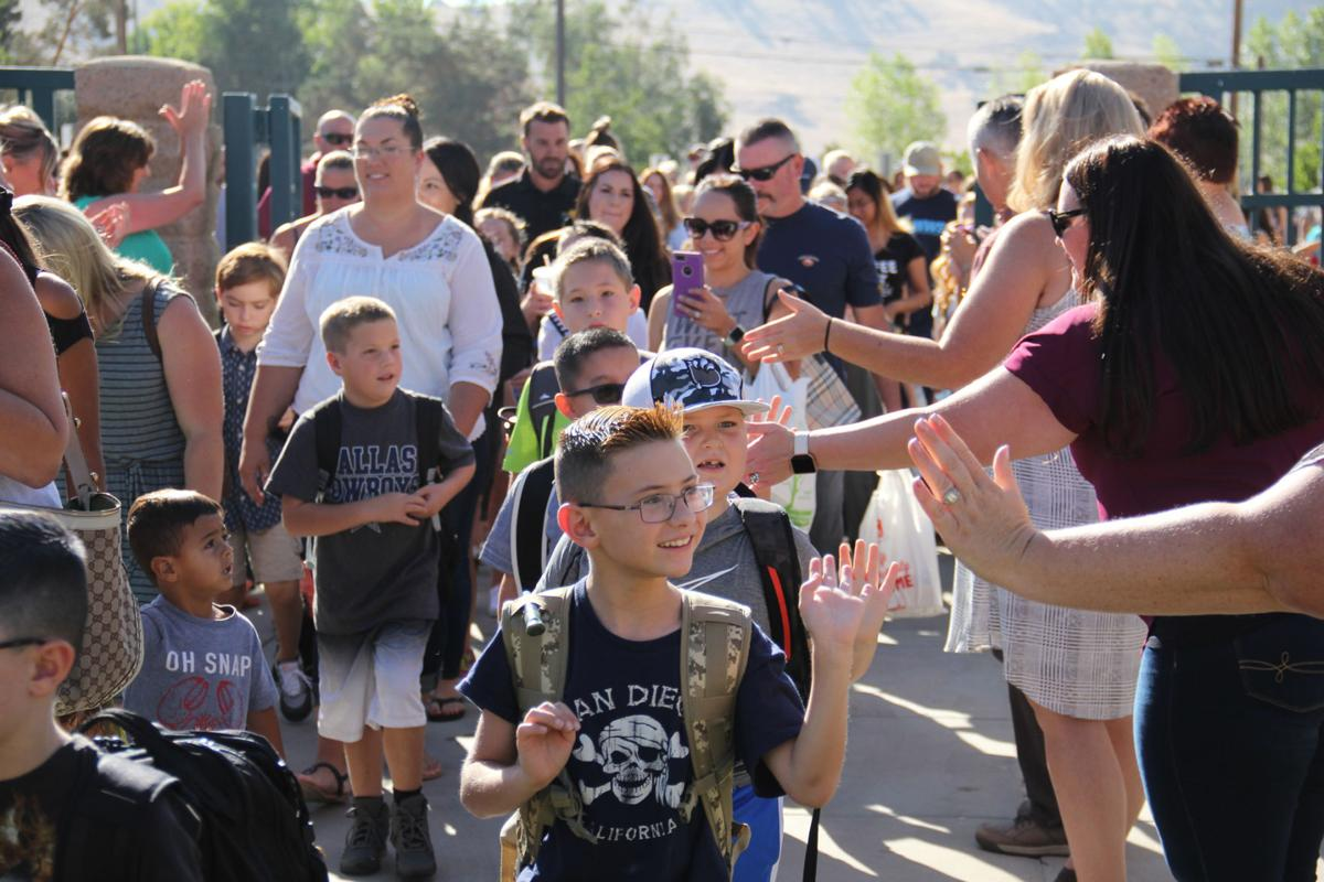 'It's new adventures and time to grow': first day of school a welcoming experience