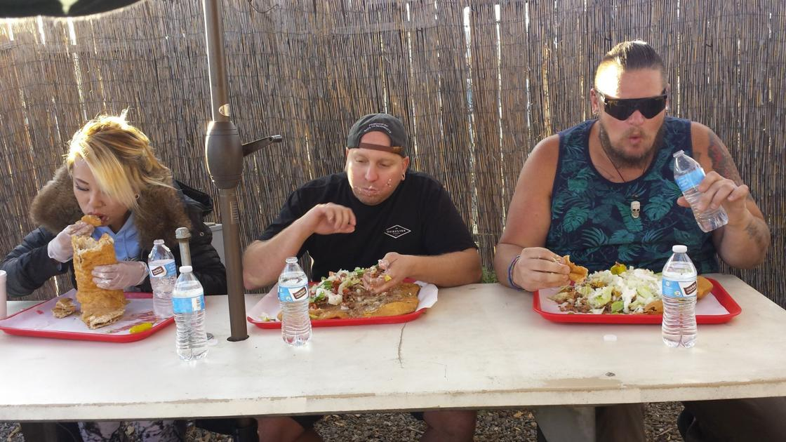 Media feeling demolishes 7-pound taco in Pink House BBQ food levels of competition | Information