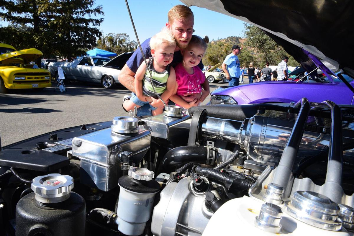 PHOTO GALLERY: Classic cars rumble through T-Town