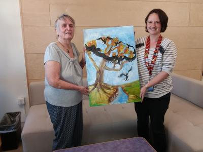 AAUW painting