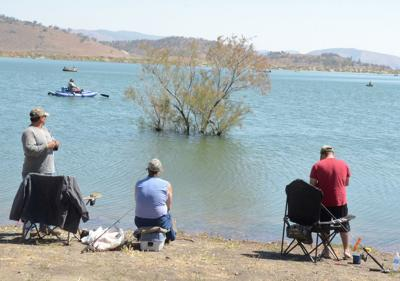 Brite Lake fishing 2