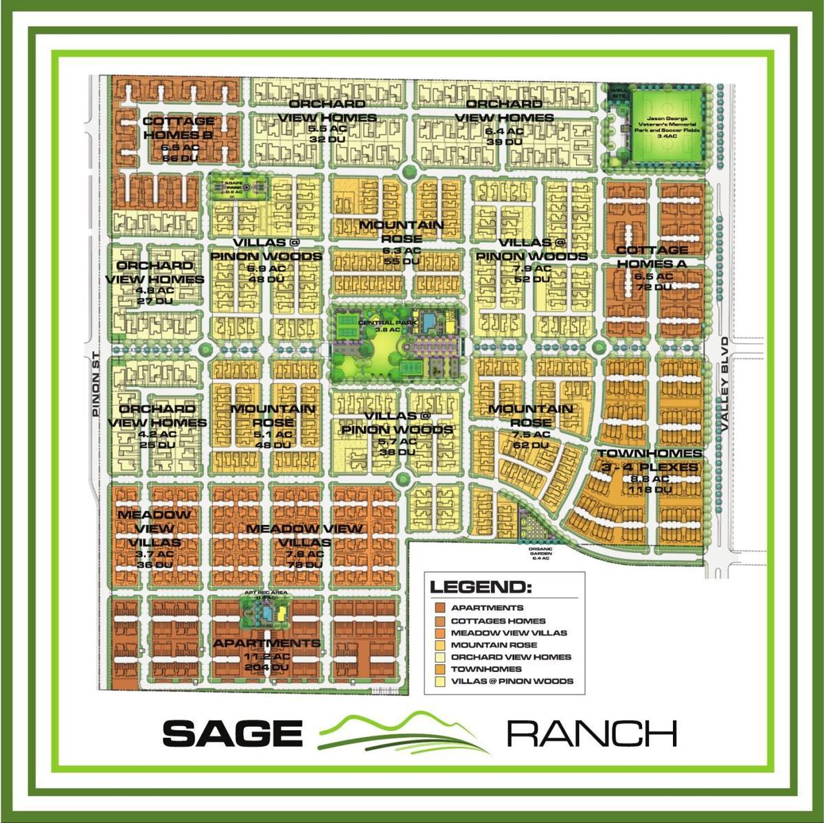 Sage Ranch map