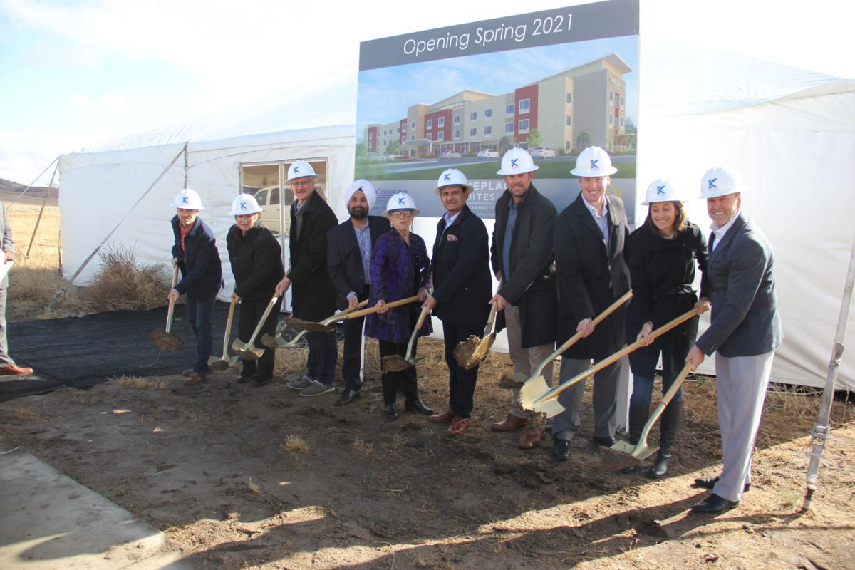 TownePlace Suites by Marriott hotel breaks ground in Tehachapi