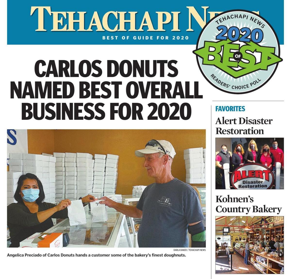 Tehachapi News' Best of 2020