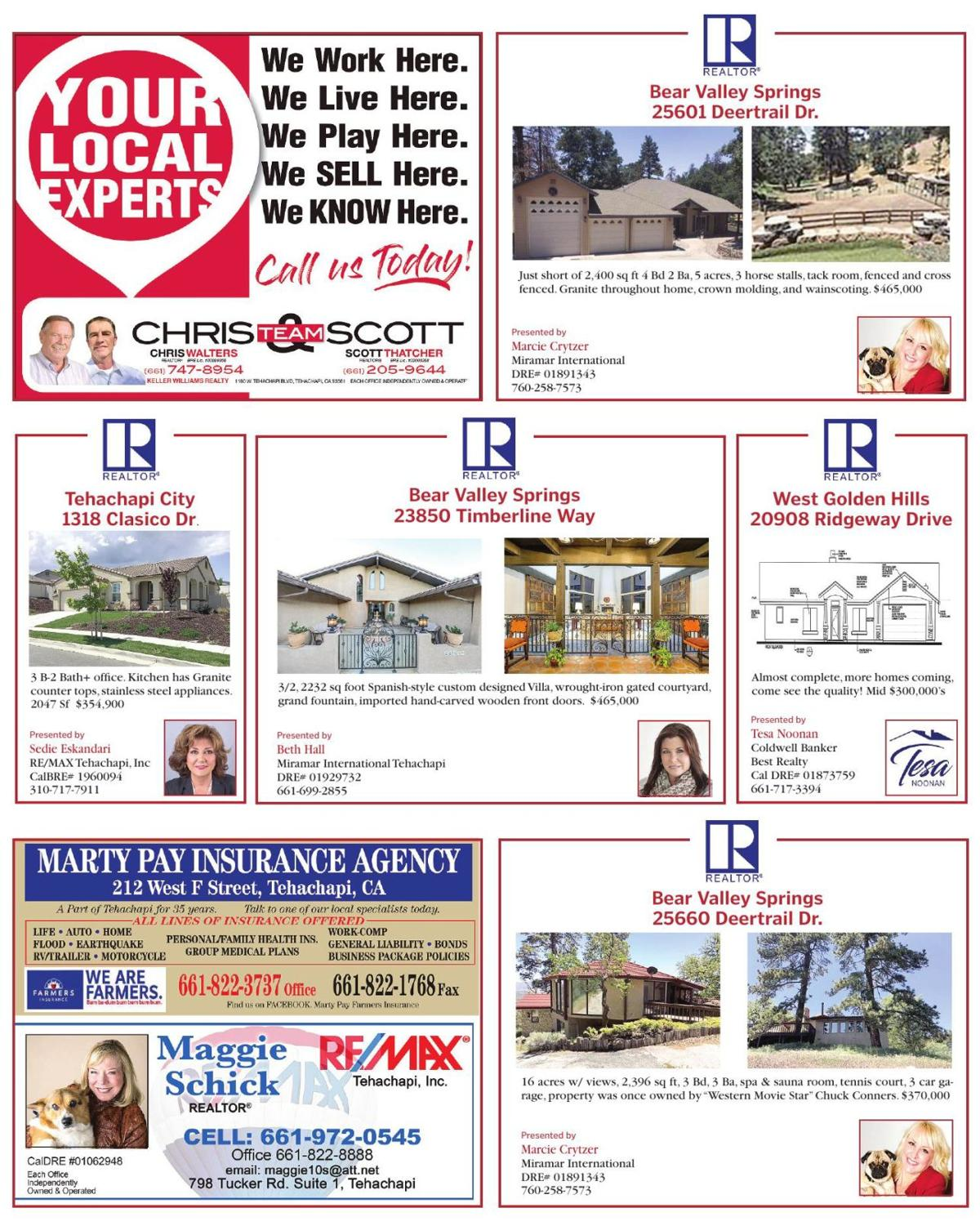 Community-Wide Open House guide page 6 | | tehachapinews com