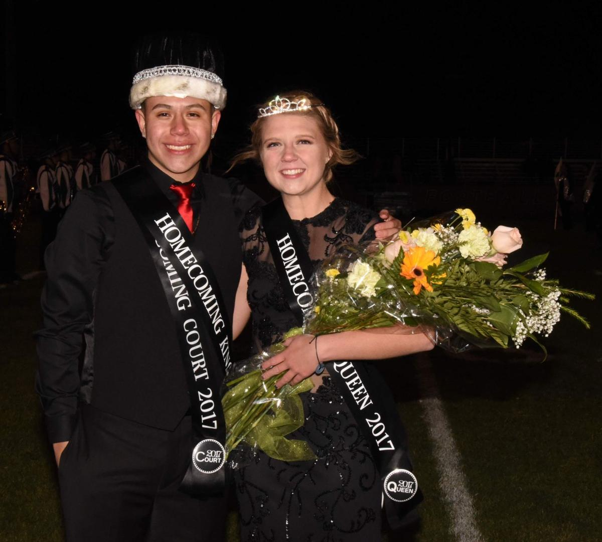 Tehachapi High crowns homecoming queen, king