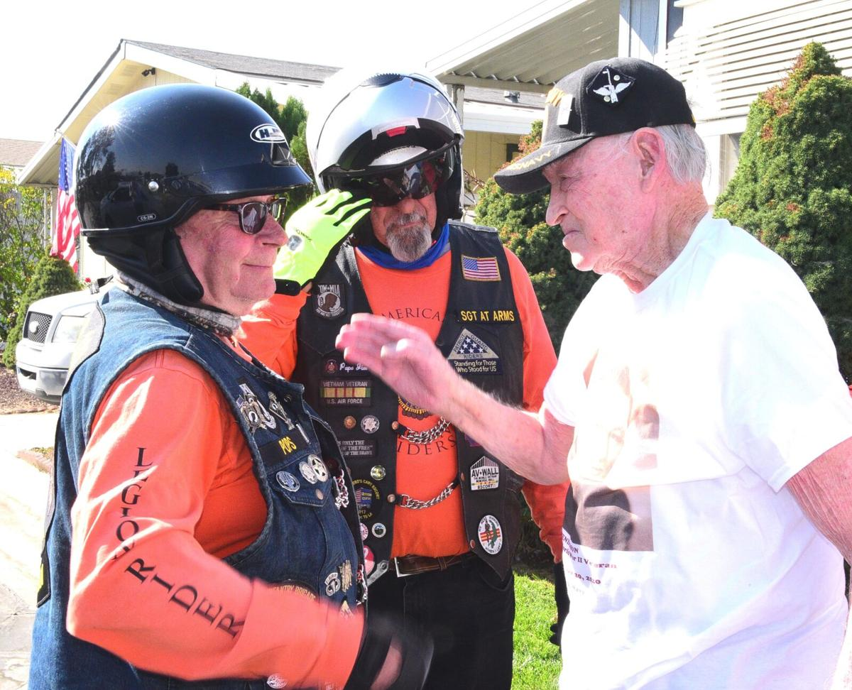 'The American spirit shines': Birthday parade held for WWII veteran