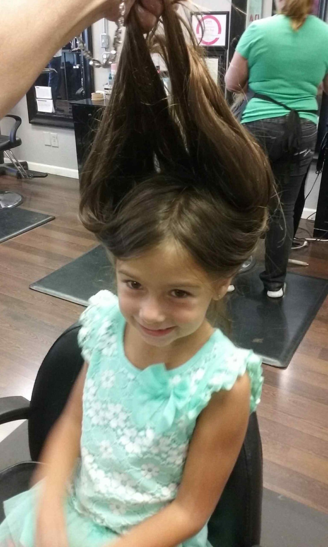 Local Girl Donates Ponytail To Locks Of Love Lifestyle