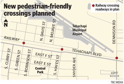 New pedestrian-friendly crossings planned