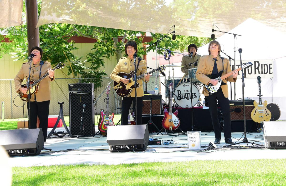 PHOTO GALLERY: Concerts in the Park opens with Beatles Tribute Band