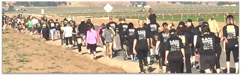 Cummings Valley Elementary walk