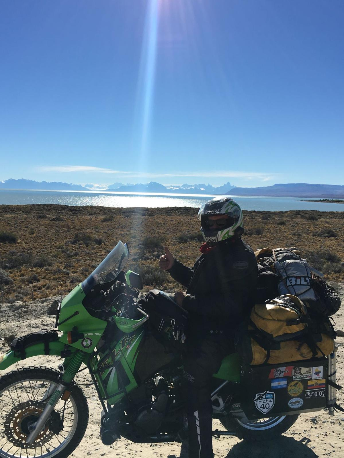 Pan-American motorcycle ride