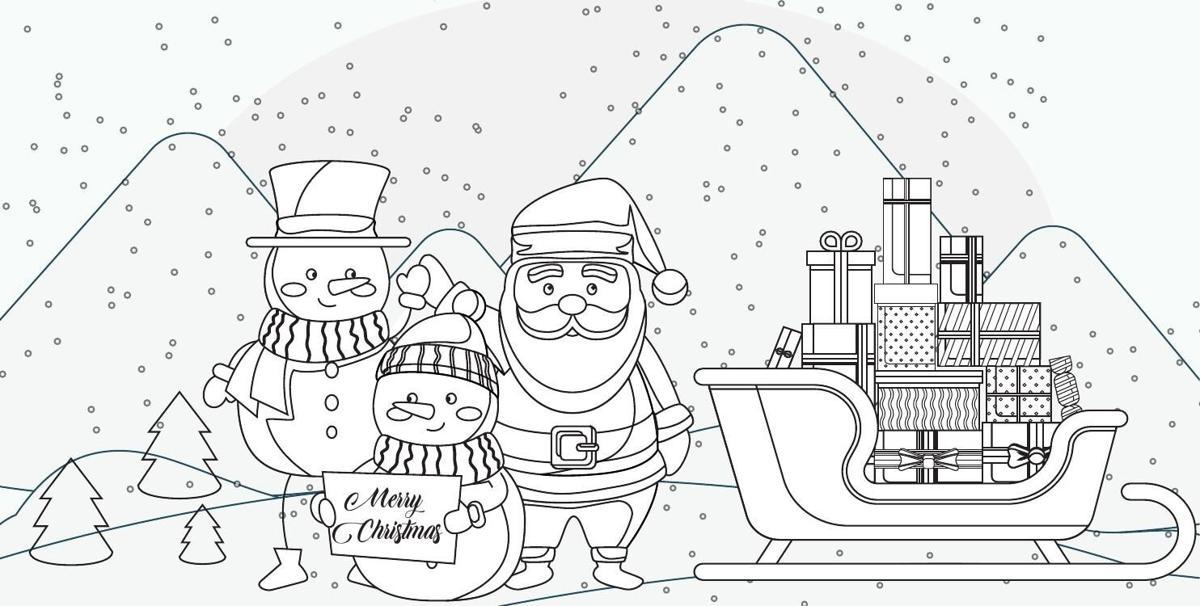 Tehachapi News' Christmas coloring contest