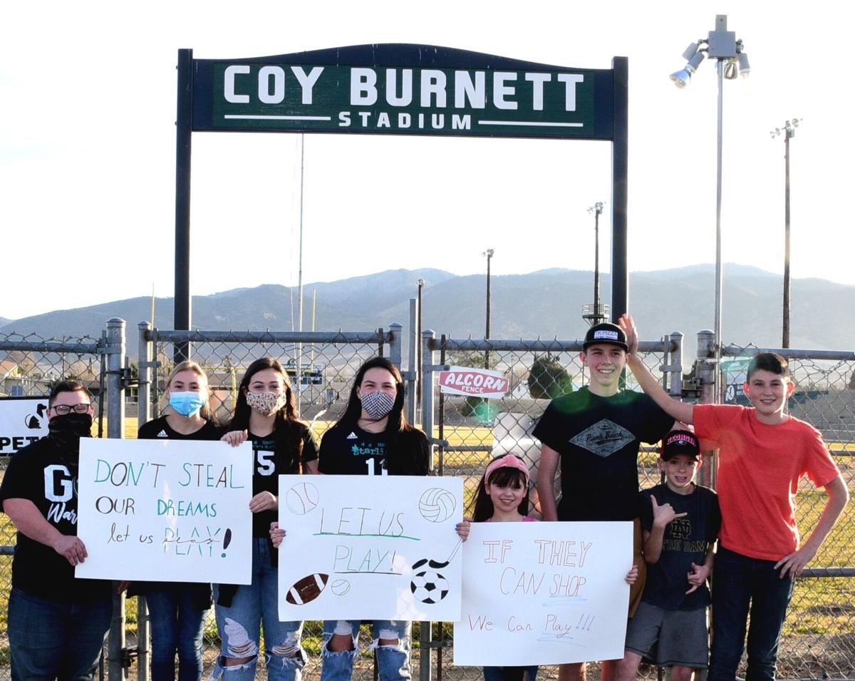 Tehachapi students, parents take part in statewide 'Let Them Play' movement Friday