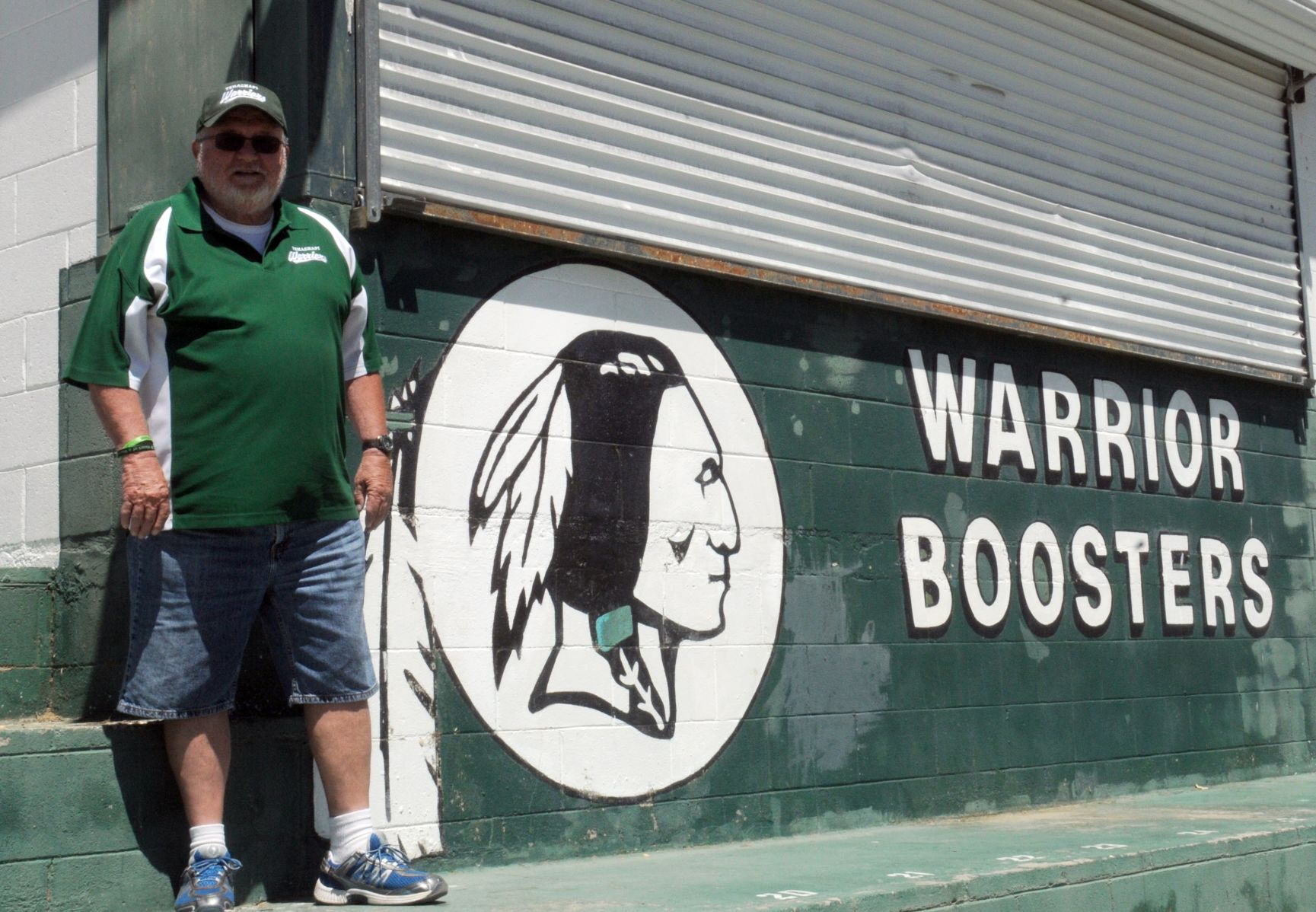 Warrior Boosters sign