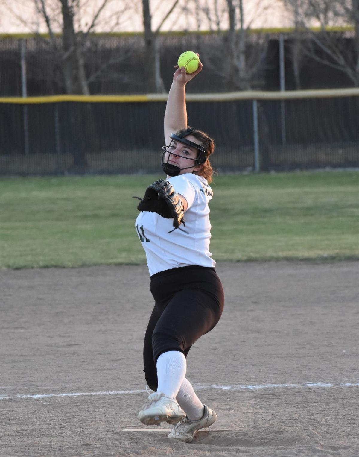 Makenna Kephart delivers to the plate.JPG