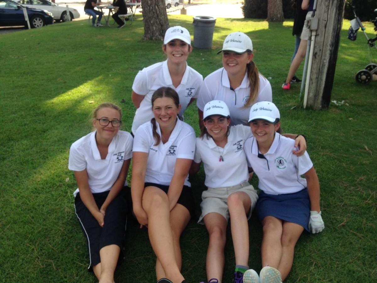 Warriors girls golf