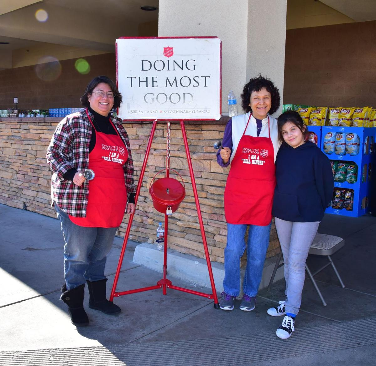 Photos: Bell ringing season begins for Salvation Army | News