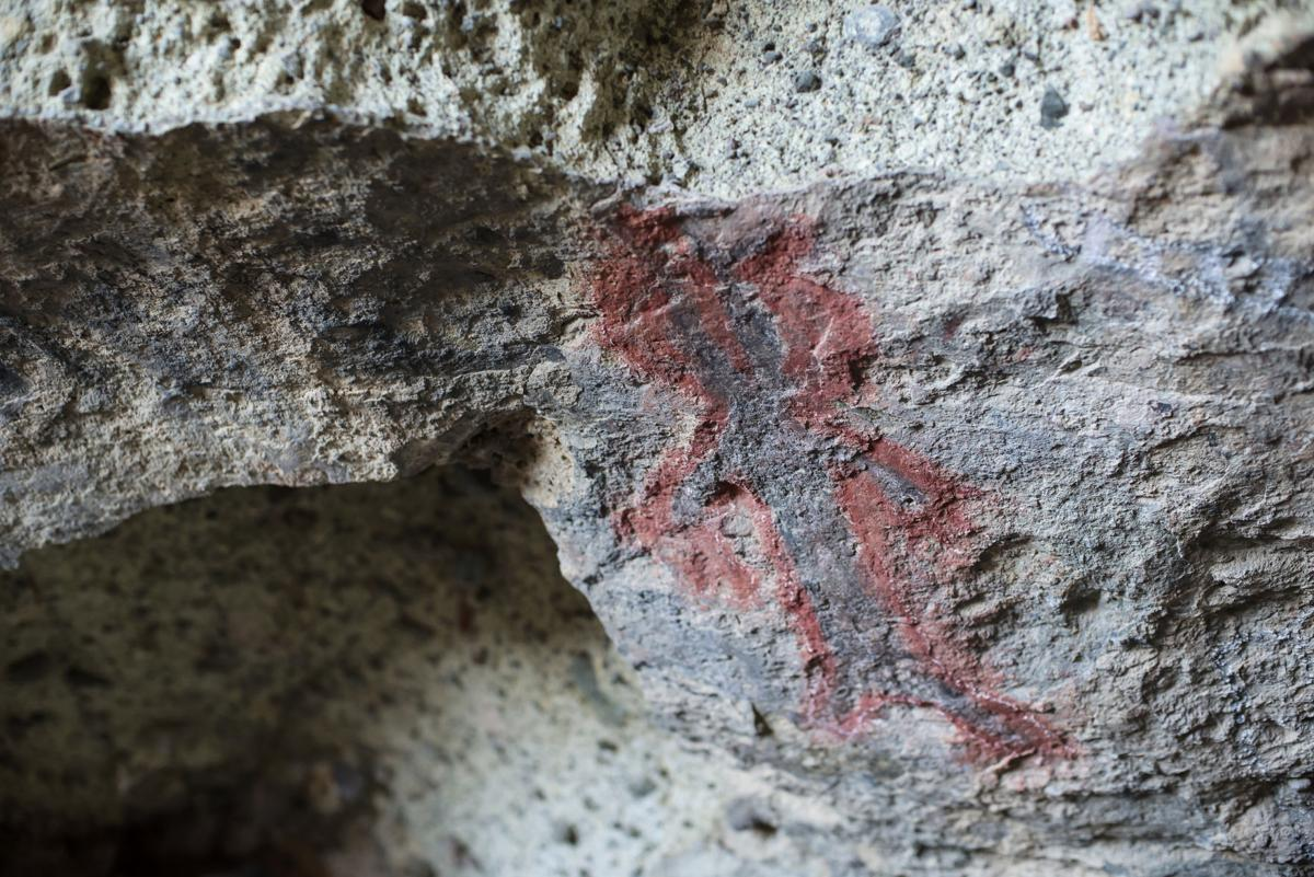 Tomo Kahni State Historic Park pictograph