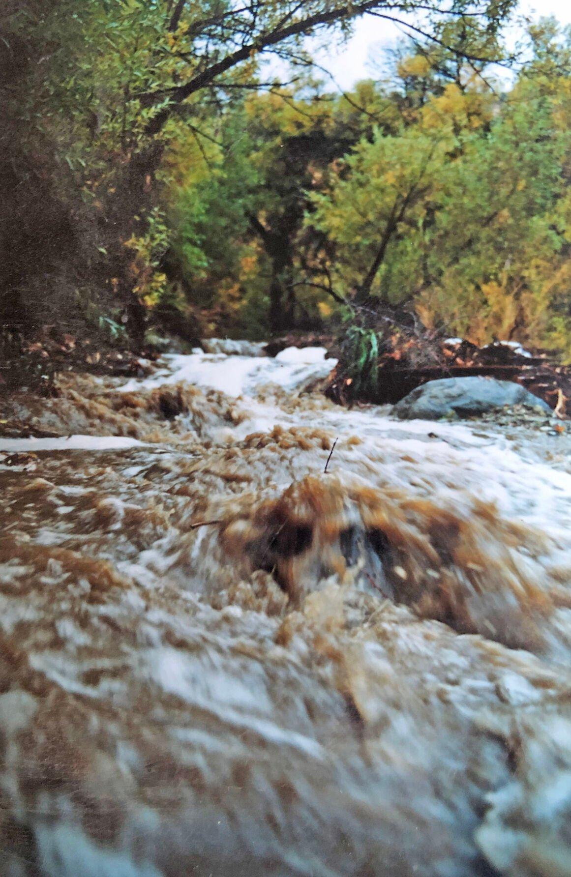 Pen in Hand #1722 - Tehachapi Creek Stream Gauge 2.jpg