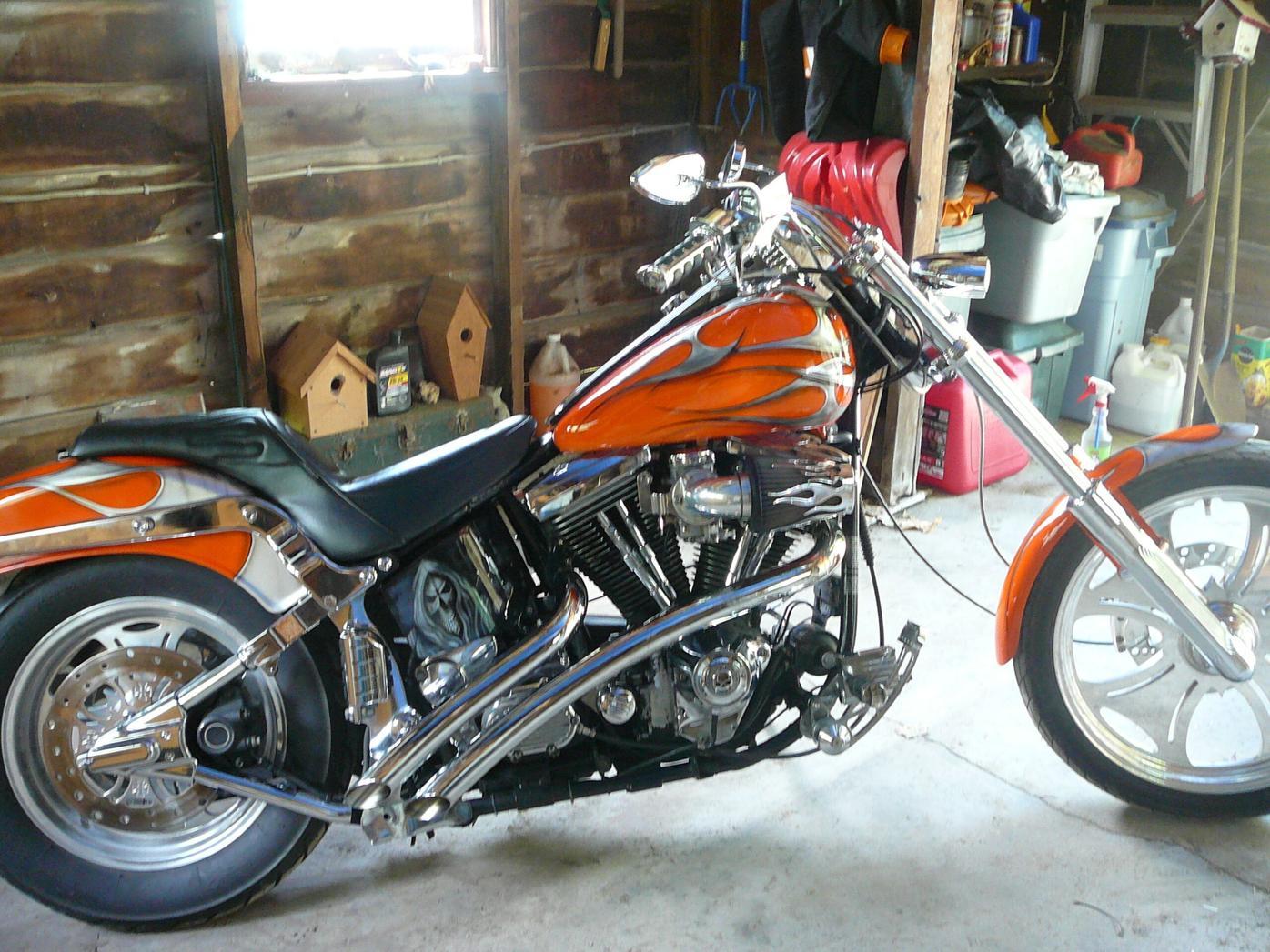 1989 Custom Harley image 1