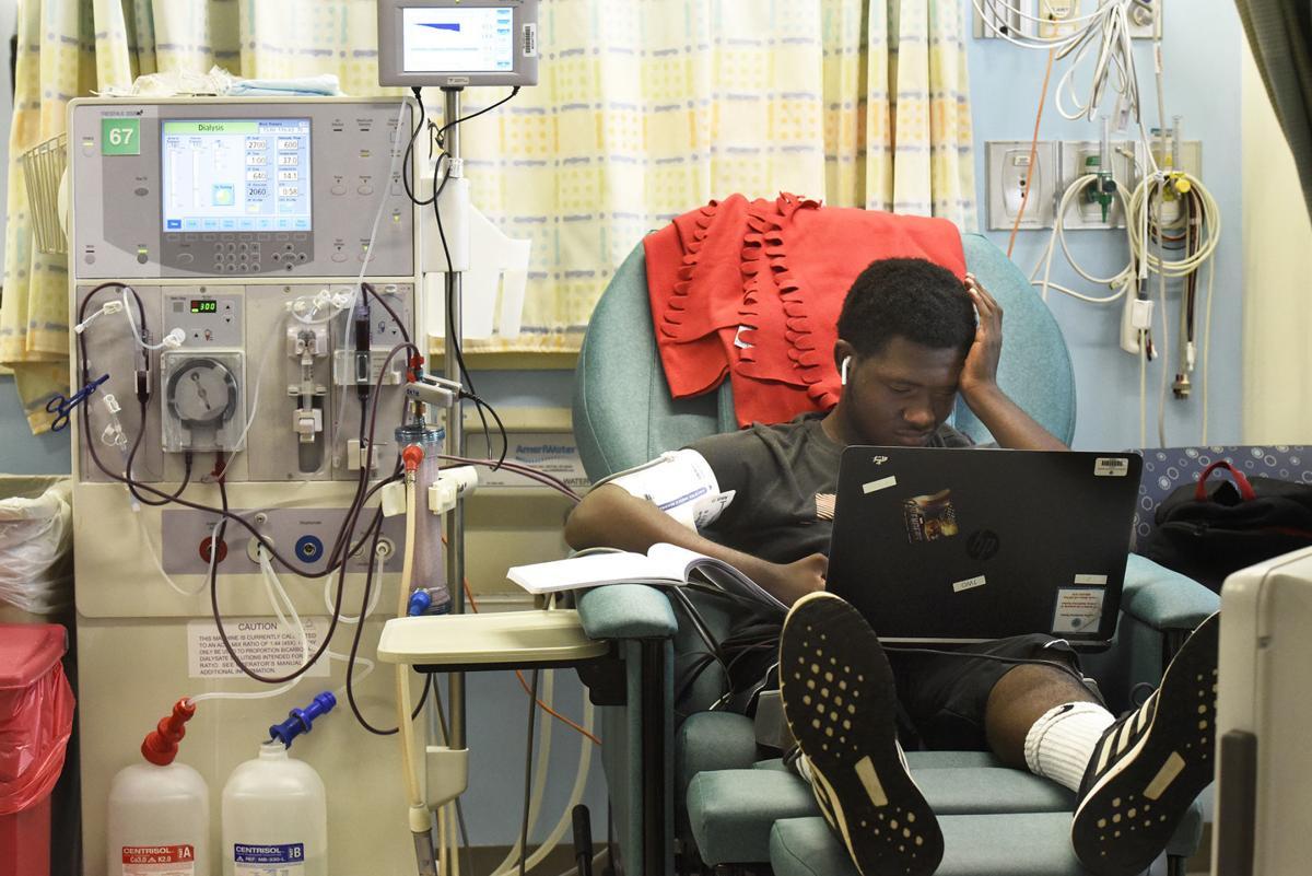 handling child with kidney disease