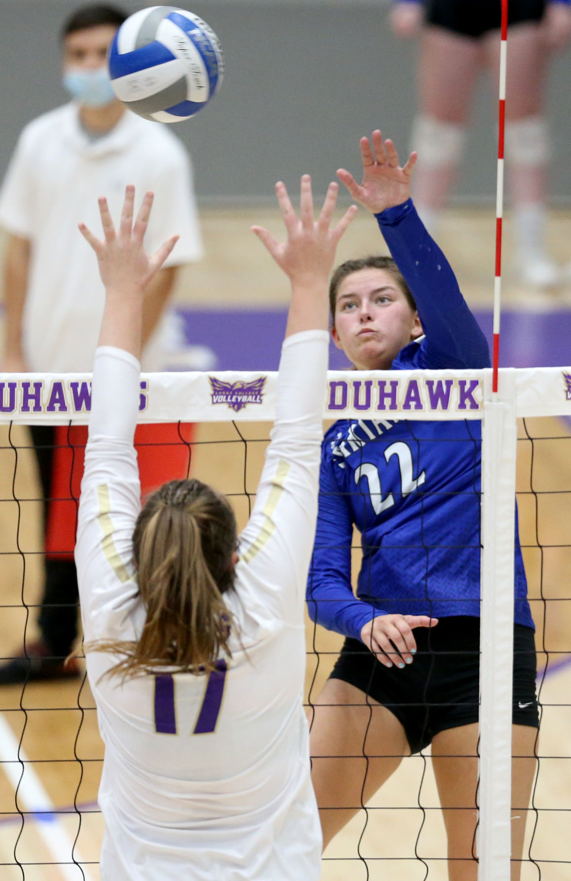 Loras vs. University of Dubuque's volleyball