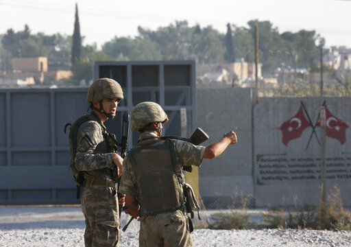 Turkey begins offensive against Kurdish fighters in Syria