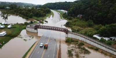 TRAVEL IMPACT: Portion of U.S. 52 closed by flooding; record daily rainfall in Dubuque