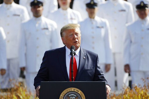 On 9/11, Trump consoles victims, has tough words for Taliban