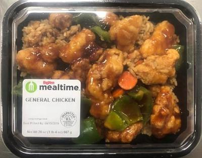 Hy-Vee recalls 7 varieties of packaged Asian entrees