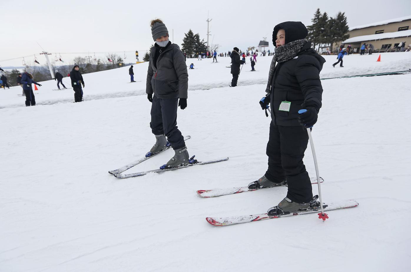 Adaptive skiing