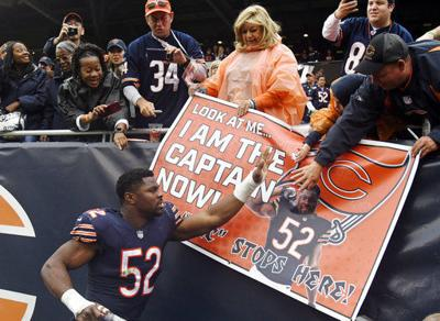 NFL  Bears reach bye with different view  from top of NFC North ... 99820ac7b