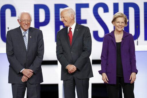 Democratic rivals repeatedly criticize Warren during debate