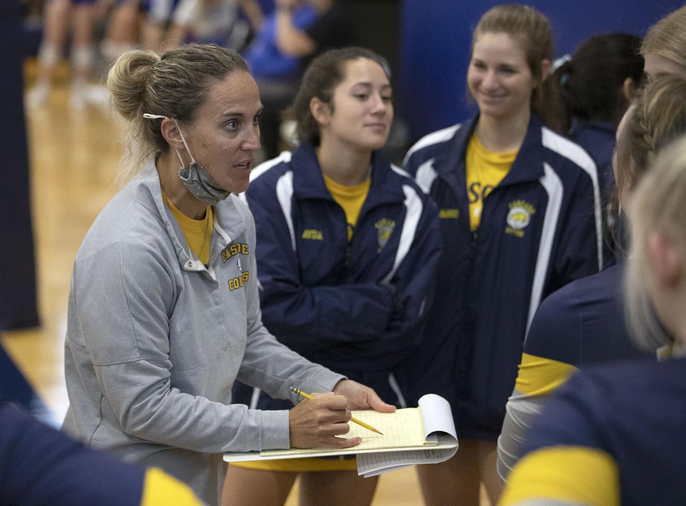 Cascade Volleyball Coach Mary Frake