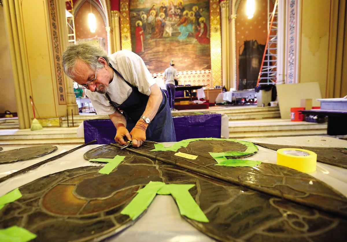 A glass act in former Dubuque church