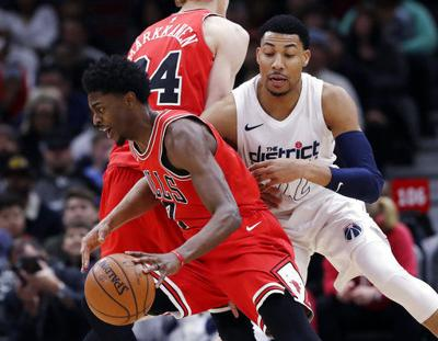 a121d737 NBA: Markkanen, hot-shooting Bulls top playoff-bound Wizards | Other ...