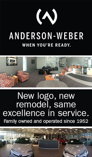 Anderson Weber tall banner