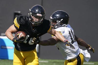Iowa Practice Football
