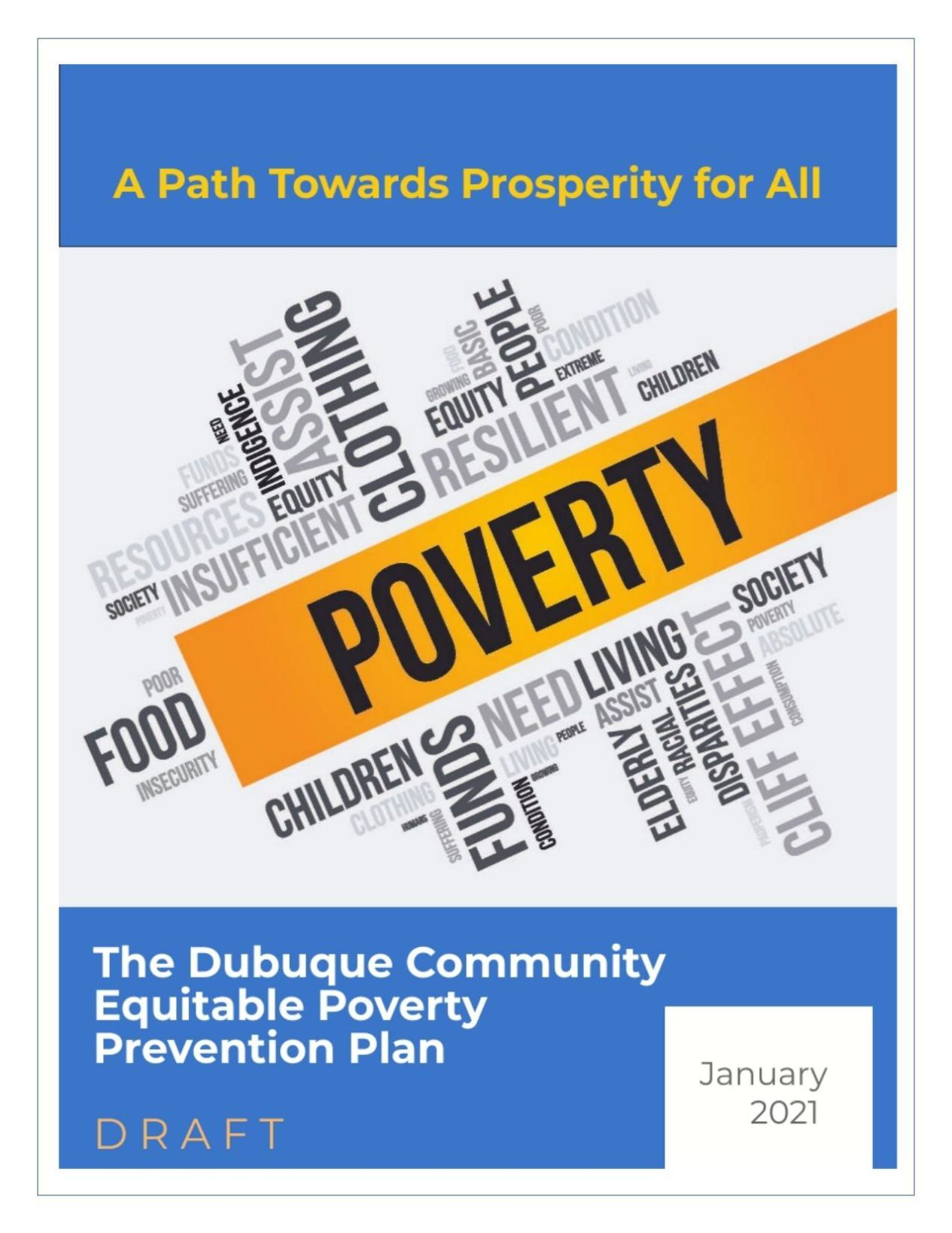 Draft Equitable Poverty Prevention Plan
