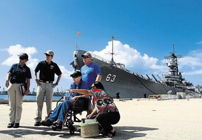Vet's dying wish fulfilled: See Pearl Harbor
