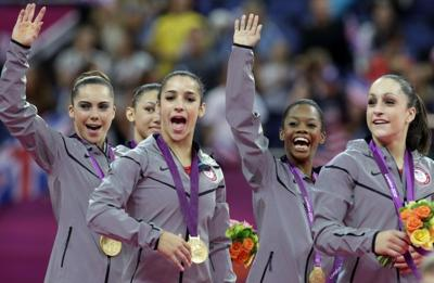 Olympics: U S  gymnasts golden once again | Other Sports