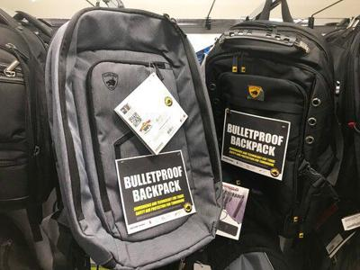 Mass shootings give rise to bullet-resistant backpacks