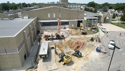 Senior High School construction